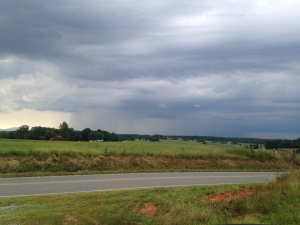 Storm over Bedford county