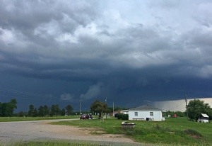 Storm #3 from Rte 57 looking east