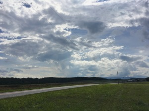 Blue Ridge airport view